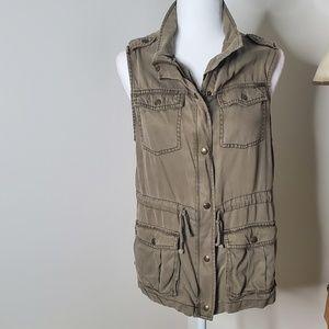 Max Jeans Jackets & Coats - MAX Jeans utility vest size M